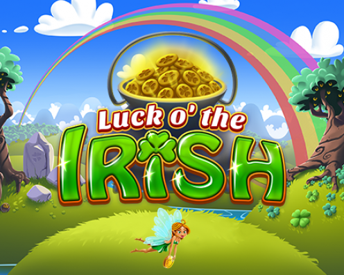 Luck o' the Irish Splash Art