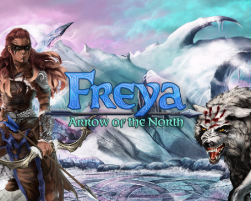Freya Arrow of the north Splash Art