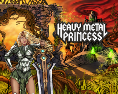 Heavy Metal Princess Splash Art