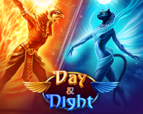 Day and Night Splash Art