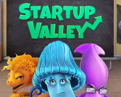 Startup Valley Splash Art