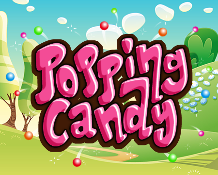 Popping Candy Splash Art
