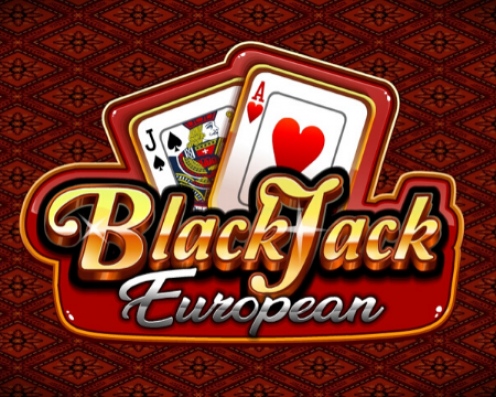 Blackjack European Splash Art