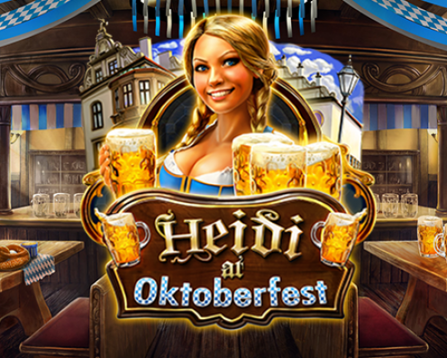 Heidi at the Oktoberfest Splash Art