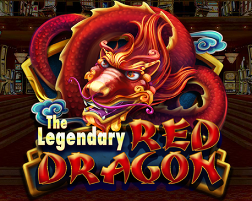 The Legendary Red Dragon Splash Art